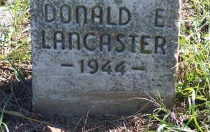 LANCASTER, DONALD E. - Ross County, Ohio | DONALD E. LANCASTER - Ohio Gravestone Photos