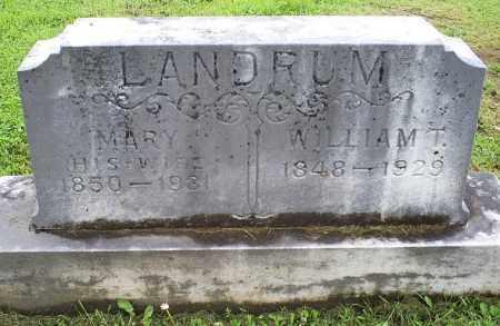 LANDRUM, MARY - Ross County, Ohio | MARY LANDRUM - Ohio Gravestone Photos