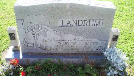 LANDRUM, HATTIE G. - Ross County, Ohio | HATTIE G. LANDRUM - Ohio Gravestone Photos