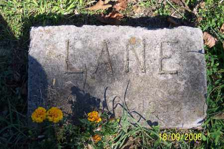 LANE, UNKNOWN - Ross County, Ohio | UNKNOWN LANE - Ohio Gravestone Photos