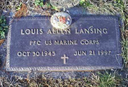 LANSING, LOUIS ALLEN - Ross County, Ohio | LOUIS ALLEN LANSING - Ohio Gravestone Photos