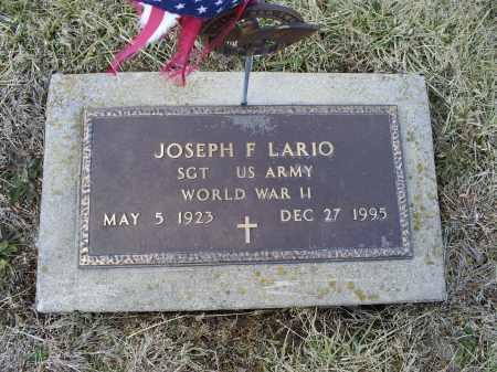 LARIO, JOSEPH F. - Ross County, Ohio | JOSEPH F. LARIO - Ohio Gravestone Photos