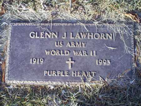 LAWHORN, GLENN J. - Ross County, Ohio | GLENN J. LAWHORN - Ohio Gravestone Photos