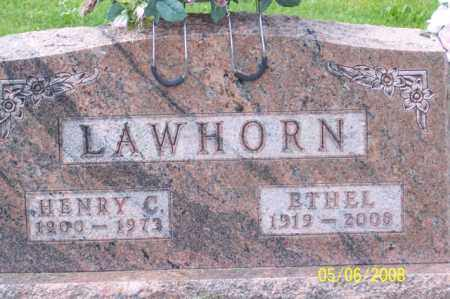 LAWHORN, ETHEL - Ross County, Ohio | ETHEL LAWHORN - Ohio Gravestone Photos