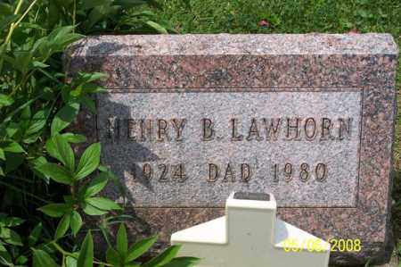LAWHORN, HENRY B. - Ross County, Ohio | HENRY B. LAWHORN - Ohio Gravestone Photos