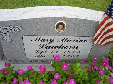 LAWHORN, MARY MAXINE - Ross County, Ohio | MARY MAXINE LAWHORN - Ohio Gravestone Photos
