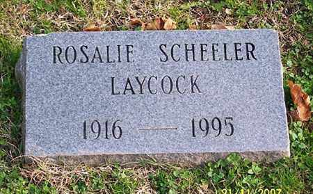 LAYCOCK, ROSALIE - Ross County, Ohio | ROSALIE LAYCOCK - Ohio Gravestone Photos