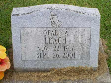 LEACH, OPAL A. - Ross County, Ohio | OPAL A. LEACH - Ohio Gravestone Photos