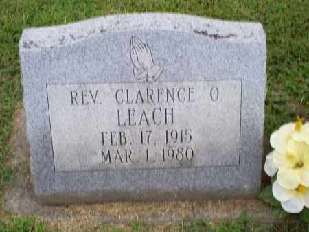 LEACH, REV. CLARENCE O. - Ross County, Ohio | REV. CLARENCE O. LEACH - Ohio Gravestone Photos