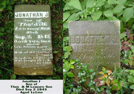 LEASURE, JONATHAN J - Ross County, Ohio | JONATHAN J LEASURE - Ohio Gravestone Photos