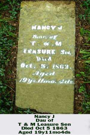 LEASURE, NANCY J - Ross County, Ohio | NANCY J LEASURE - Ohio Gravestone Photos