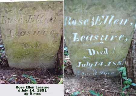 LEASURE, ROSE ELLEN - Ross County, Ohio | ROSE ELLEN LEASURE - Ohio Gravestone Photos