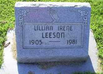 LEESON, LILLIAN IRENE - Ross County, Ohio | LILLIAN IRENE LEESON - Ohio Gravestone Photos
