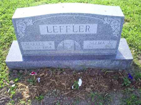 LEFFLER, CHARLES W. - Ross County, Ohio | CHARLES W. LEFFLER - Ohio Gravestone Photos