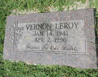 LEROY, VERNON - Ross County, Ohio | VERNON LEROY - Ohio Gravestone Photos