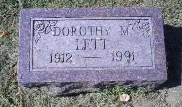 LETT, DOROTHY M. - Ross County, Ohio | DOROTHY M. LETT - Ohio Gravestone Photos