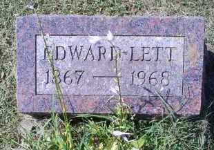 LETT, EDWARD - Ross County, Ohio | EDWARD LETT - Ohio Gravestone Photos