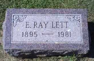 LETT, E. RAY - Ross County, Ohio | E. RAY LETT - Ohio Gravestone Photos
