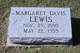 LEWIS, MARGARET DAVIS - Ross County, Ohio | MARGARET DAVIS LEWIS - Ohio Gravestone Photos