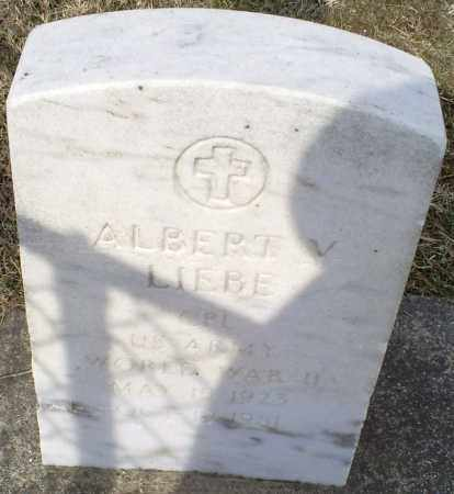 LIEBE, ALBERT V. - Ross County, Ohio | ALBERT V. LIEBE - Ohio Gravestone Photos