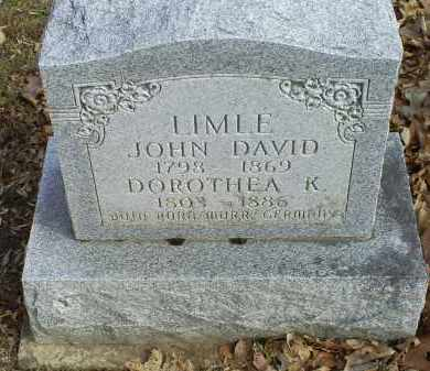 LIMLE, DOROTHEA K. - Ross County, Ohio | DOROTHEA K. LIMLE - Ohio Gravestone Photos