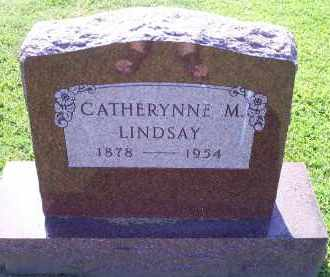 LINDSAY, CATHERYNNE M. - Ross County, Ohio | CATHERYNNE M. LINDSAY - Ohio Gravestone Photos