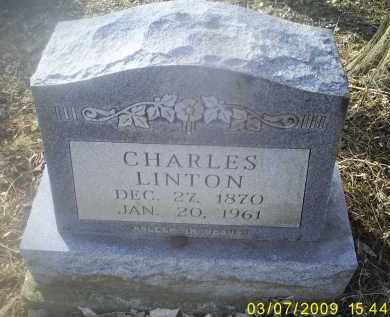 LINTON, CHARLES - Ross County, Ohio | CHARLES LINTON - Ohio Gravestone Photos