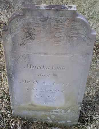LITTLE, MARTHA - Ross County, Ohio | MARTHA LITTLE - Ohio Gravestone Photos