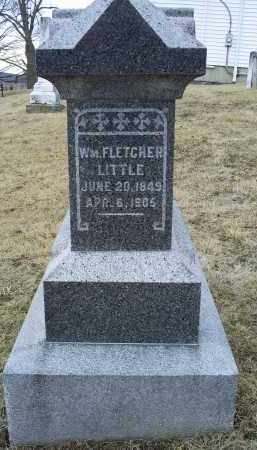 LITTLE, WM. FLETCHER - Ross County, Ohio | WM. FLETCHER LITTLE - Ohio Gravestone Photos