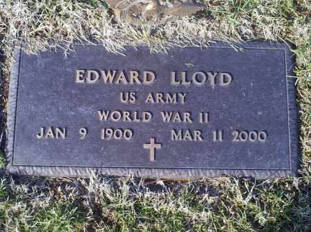 LLOYD, EDWARD - Ross County, Ohio | EDWARD LLOYD - Ohio Gravestone Photos