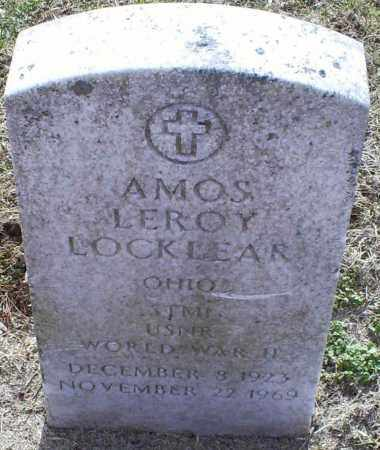 LOCKLEAR, AMOS LEROY - Ross County, Ohio | AMOS LEROY LOCKLEAR - Ohio Gravestone Photos