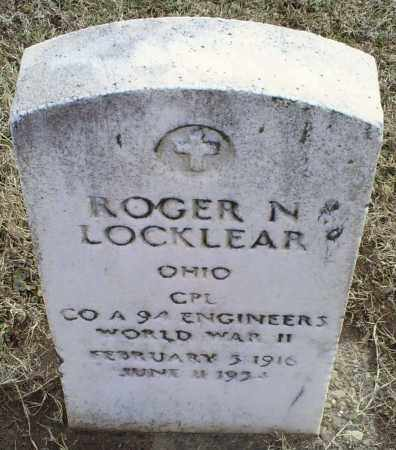 LOCKLEAR, ROGER N. - Ross County, Ohio | ROGER N. LOCKLEAR - Ohio Gravestone Photos