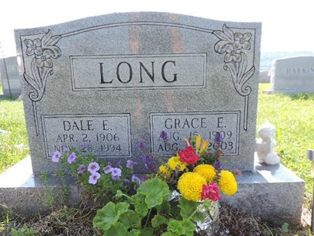 LONG, GRACE E - Ross County, Ohio | GRACE E LONG - Ohio Gravestone Photos
