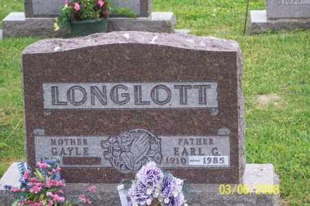 LONGLOTT, EARL G. - Ross County, Ohio | EARL G. LONGLOTT - Ohio Gravestone Photos