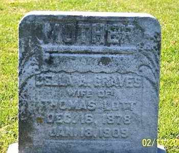 GRAVES LOTT, BELLA A. - Ross County, Ohio | BELLA A. GRAVES LOTT - Ohio Gravestone Photos