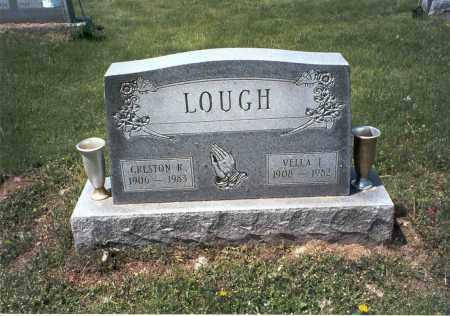 LOUGH, VELLA I. - Ross County, Ohio | VELLA I. LOUGH - Ohio Gravestone Photos