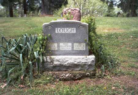LOUGH, ELLA - Ross County, Ohio | ELLA LOUGH - Ohio Gravestone Photos