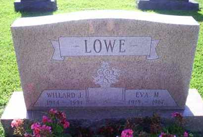 LOWE, WILLARD J. - Ross County, Ohio | WILLARD J. LOWE - Ohio Gravestone Photos