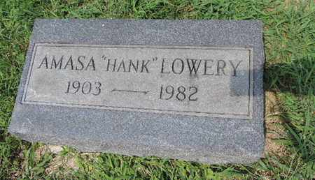 LOWERY, AMASA - Ross County, Ohio | AMASA LOWERY - Ohio Gravestone Photos
