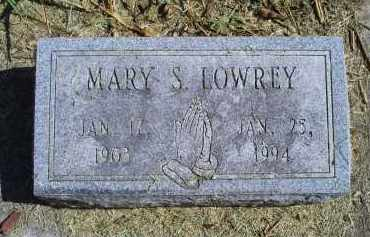 LOWREY, MARY S. - Ross County, Ohio | MARY S. LOWREY - Ohio Gravestone Photos