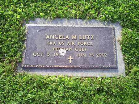 LUTZ, ANGELA M. - Ross County, Ohio | ANGELA M. LUTZ - Ohio Gravestone Photos