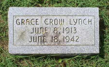 CROW LYNCH, GRACE - Ross County, Ohio | GRACE CROW LYNCH - Ohio Gravestone Photos