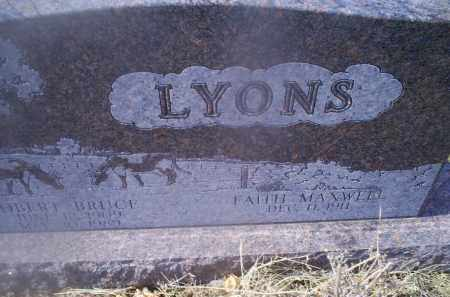 LYONS, ROBERT BRUCE - Ross County, Ohio | ROBERT BRUCE LYONS - Ohio Gravestone Photos