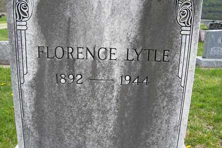 LYTLE, FLORENCE - Ross County, Ohio | FLORENCE LYTLE - Ohio Gravestone Photos