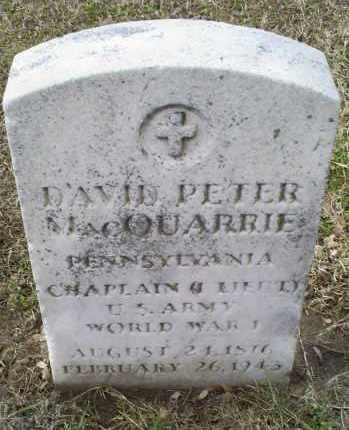 MACQUARRIE, DAVID PETER - Ross County, Ohio | DAVID PETER MACQUARRIE - Ohio Gravestone Photos