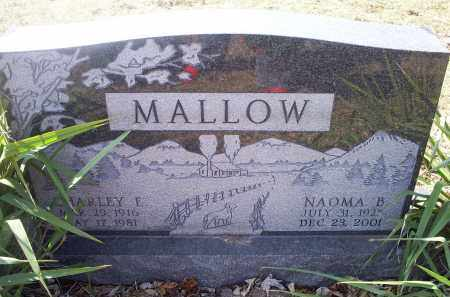 MALLOW, CHARLEY E. - Ross County, Ohio | CHARLEY E. MALLOW - Ohio Gravestone Photos