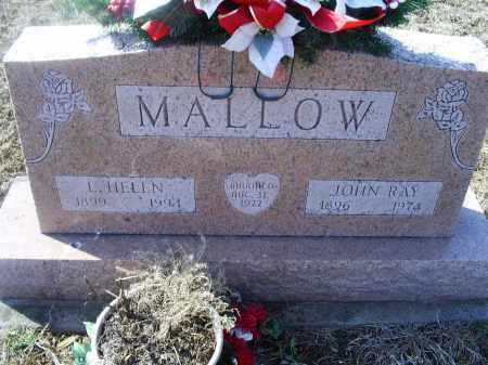MALLOW, JOHN RAY - Ross County, Ohio | JOHN RAY MALLOW - Ohio Gravestone Photos