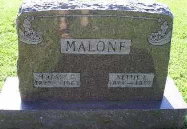 MALONE, NETTIE E. - Ross County, Ohio | NETTIE E. MALONE - Ohio Gravestone Photos