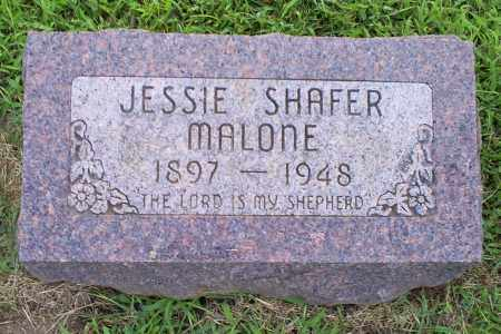 SHAFER MALONE, JESSIE - Ross County, Ohio | JESSIE SHAFER MALONE - Ohio Gravestone Photos