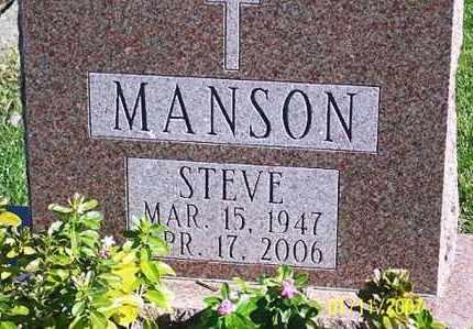 MANSON, STEVE - Ross County, Ohio | STEVE MANSON - Ohio Gravestone Photos